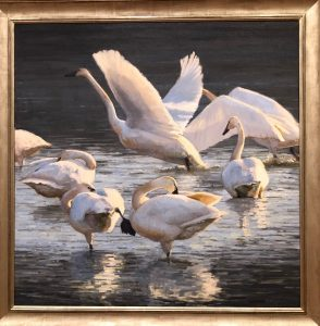 Birds in Art at the Artrageous Weekend in Wausau, Wisconsin