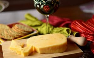 Afternoon wine and cheese reception at our luxury lodging near Downtown Wausau