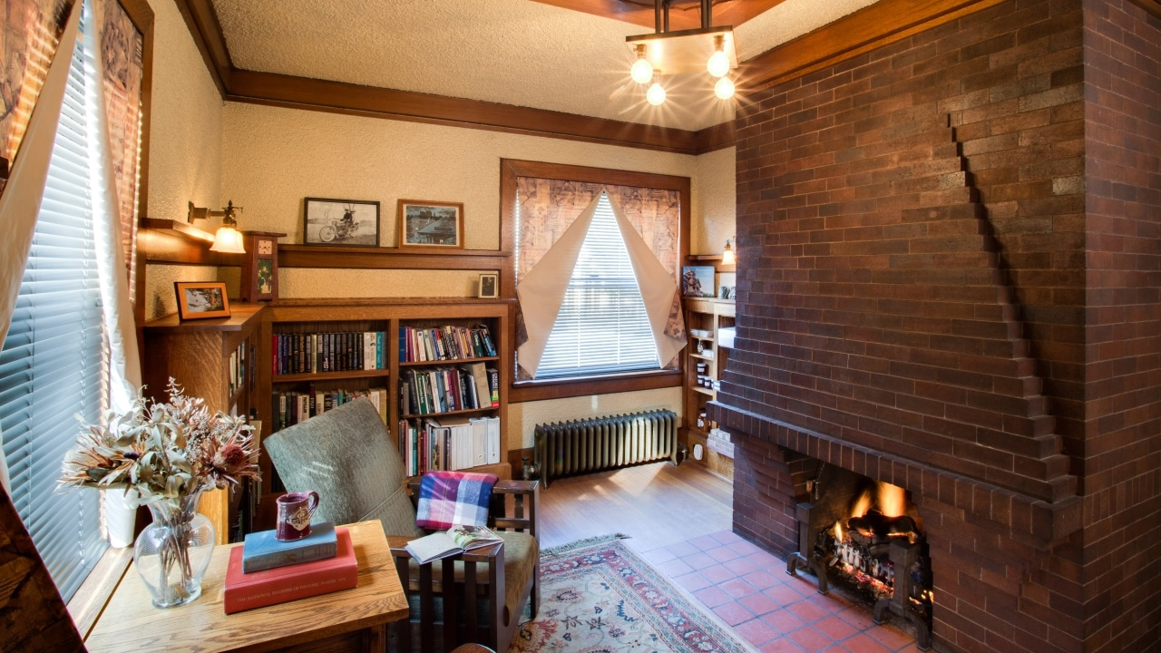 The library at our Wausau Boutique Hotel is a great place to pass a quiet few hours during your winter getaway.