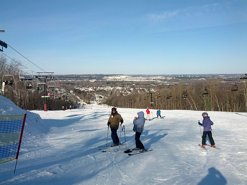 Granite Peak Ski area is located just a few minutes from our Wausau Boutique Hotel.